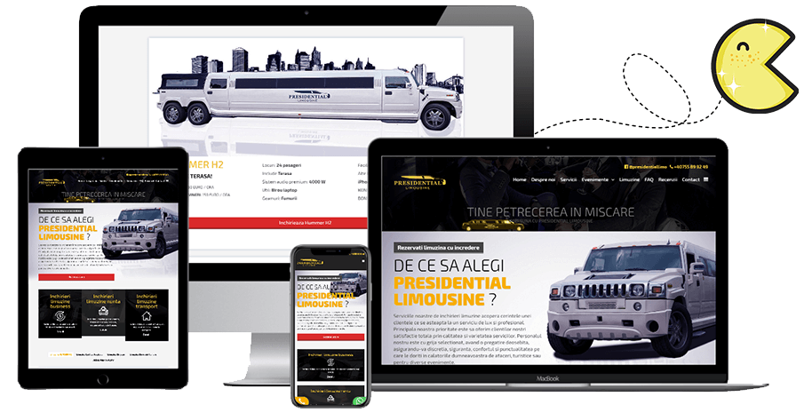 Pret creare site web • Optimizare • PAC Media