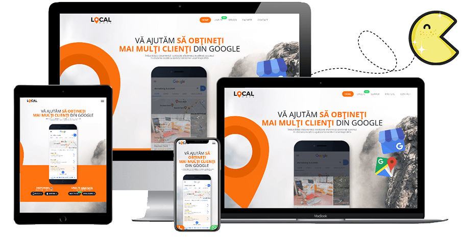 creare site web tulcea • Optimizare • PAC Media