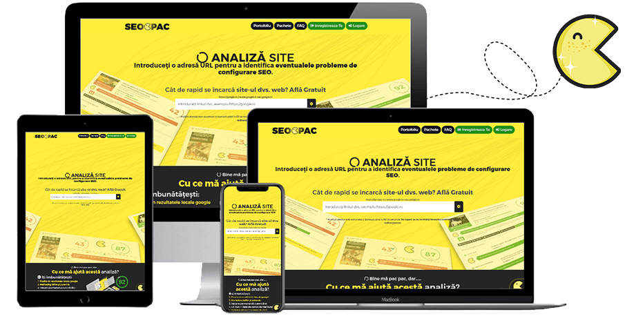 site prezentare • Optimizare • PAC Media